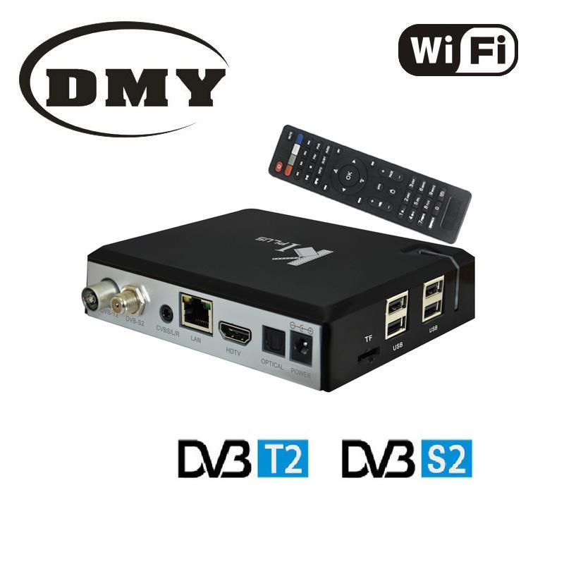 1PC KI PLUS T2 S2 Amlogic s905 Quad-core 64-bit media Player android 5.1 smart tv box 1GB/8GB Support DVB-S2 + DVB-T2 4K MINI PC(China (Mainland))
