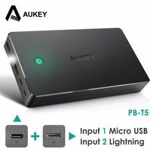 Buy AUKEY 20000mAh Power Bank Portable External Battery Quick Charge 2.0 Dual USB Mobile Charger iPhone Xiaomi Huawei Phones for $29.58 in AliExpress store