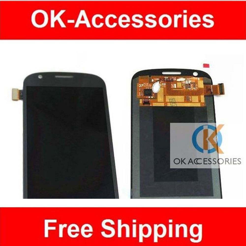 For Samsung Galaxy Express i8730  LCD Display+Touch Sceen Digitizer Assembly 1PC /Lot Free Shipping
