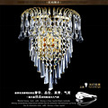 European Style Stainless Steel Wall Lamp Crystal Creative Simple Golden crysal wall lamp Living Room Bedroom