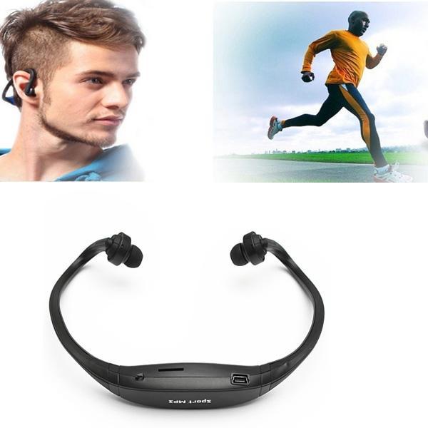 New High Quality Fashion Stereo Sport Headset Headphone Earphone MP3 Music Player Micro For SD TF Slot(China (Mainland))