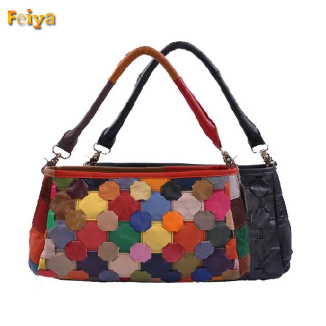 New Genuine Leather Shoulder Tote Women's Handbag New Arrival Fashion Vintage Small Bag