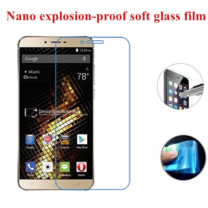 Nano Explosion-proof Soft Glass Clear Screen Protector Protective Film for BLU Studio VIVO 5(China (Mainland))