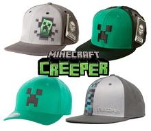 Minecraft My World Original Baseball Cap Hat peaked cap net visor high quality free shipping(China (Mainland))