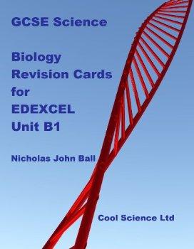 GCSE Science Biology Revision Cards for EDEXCEL Unit B1 (GCS... 1 ed.(China (Mainland))