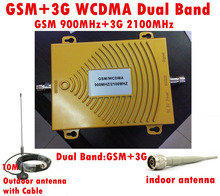 Full Set GSM 900Mhz + 3G W-CDMA 2100MHz Dual Band Repeater Signal Booster, 2G Mobile Phone Antenna - Zai Xing CO., LTD store