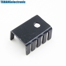 Buy 10PCS TO-220 Heat Sink Black TO220 19x15x10mm IC Heat Sink Aluminum for $1.08 in AliExpress store