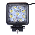 2pcs SUV Epistar 27W LED Work Light Spot light Spotlights Combo Beam Truck Trailer Waterproof IP65