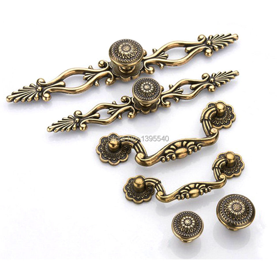 Гаджет  New 96mm Antique Cabinet Kitchen Handles Knobs Euro-Style Vintage Wardrobe Knobs Modern Kitchen Drawer Handles Bars Pulls None Мебель