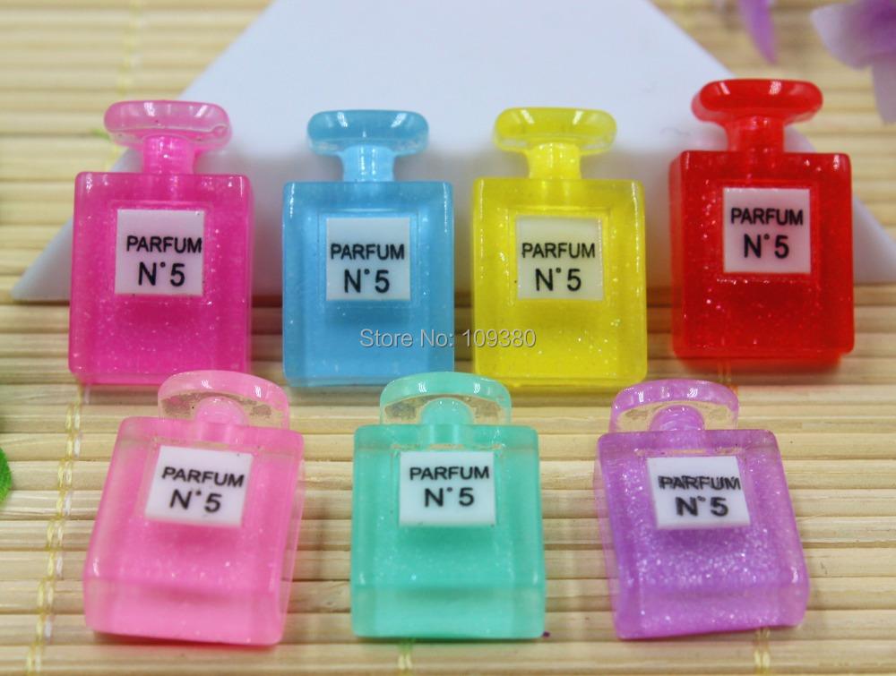 new arrival flatback resin perfume bottle for kids children accessaries
