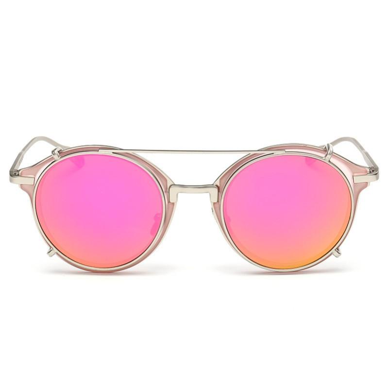 2015 Fashion metal dual-use colorful sunglasses angzhan can myopia glasses plain visual(China (Mainland))