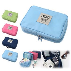 Waterproof Travel Necessity Organizer Skincare Make up Women's Toiletry Bag Portable Storage Pouch For Cosmetic(China (Mainland))