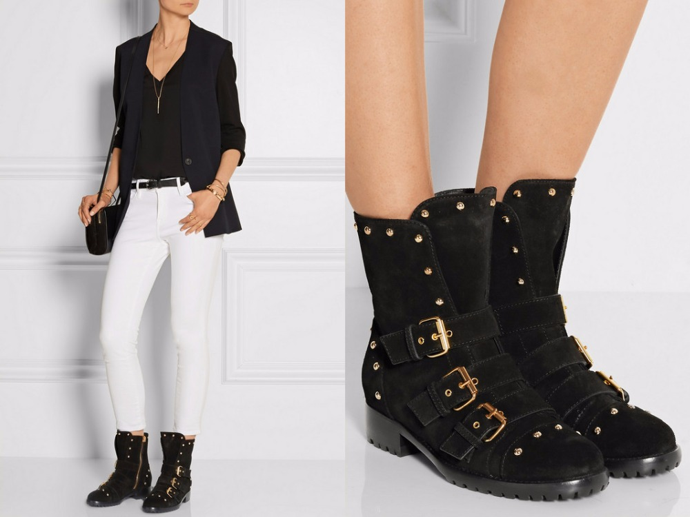 cheap black suede ankle boots boot ri
