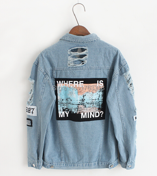 Online Buy Wholesale denim jacket patch back from China denim