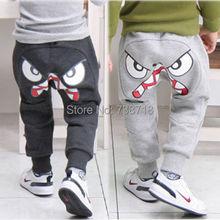 Popular Kids Boys Girl Unique Clothes Harem Pants Trousers Cartoon Kids Sz2-7Y