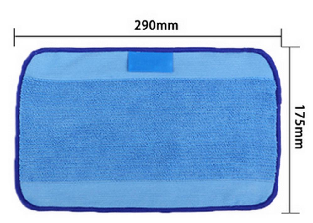 Microfiber Mopping Cloths for iRobot Braava 380 380t 320 Mint 4200 4205 5200 5200C Robot 9 pcs/Lot(China (Mainland))