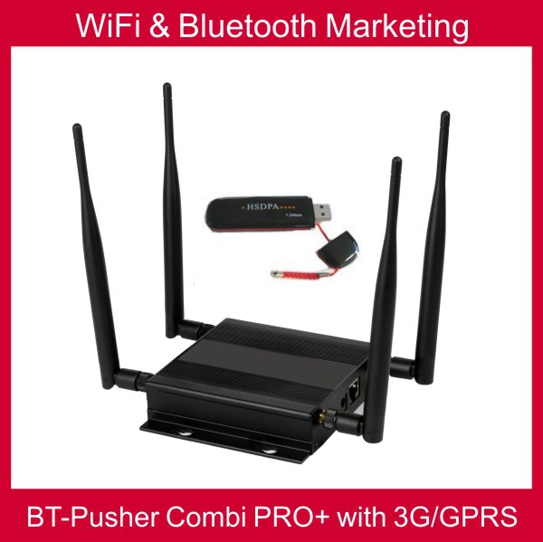 WiFi&Bluetooth mobiles Proximity marketing COMBI PRO+ with 3G/GPRS,car charger,battery(native advertising content system)(China (Mainland))