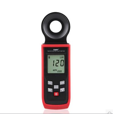 Integrated 200/2000/20000/200000 Lux range  Digital Light Meter handhold meter Light meters tester toors