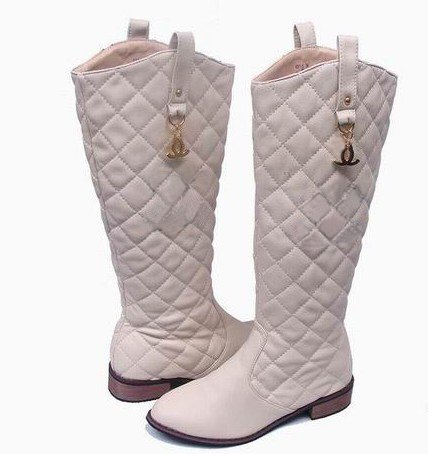 Hot Selling Women's Boots Casual Fashion Brand Winter Knee Lady's Knight Flat