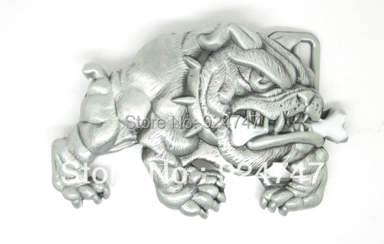 Awsome Bulldog English Belt Buckle(China (Mainland))