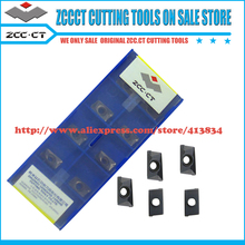 Free shipping APKT 11T308-PM YBG202 (100pcs/box)  CVD ZCC.CT cemented carbide milling insert  Positive insert