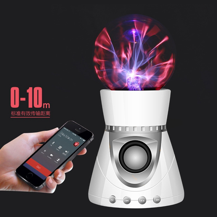 Fashion Wireless Bluetooth Speaker With Colorful Magic Lights Ball Handsfree TF Card Speaker Sound Stereo Music Surround Player
