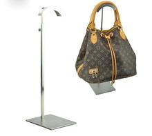 Adjustable Height Handbag Stand Display Metal matte Handbag Display Rack Women man Bag Display Holder