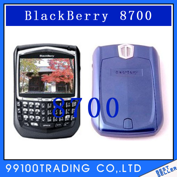 Unlocked Original Blackberry   8700 Cell Phone,Curve WI-FI phone Free shipping Refurbished