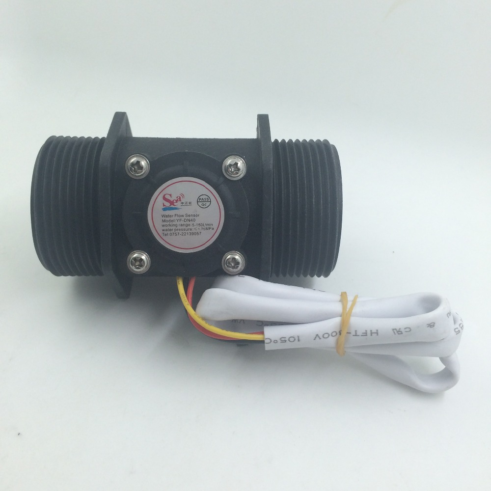 G1.5 inch interface, DN40 Water flow sensor switch, Industrial flow meter