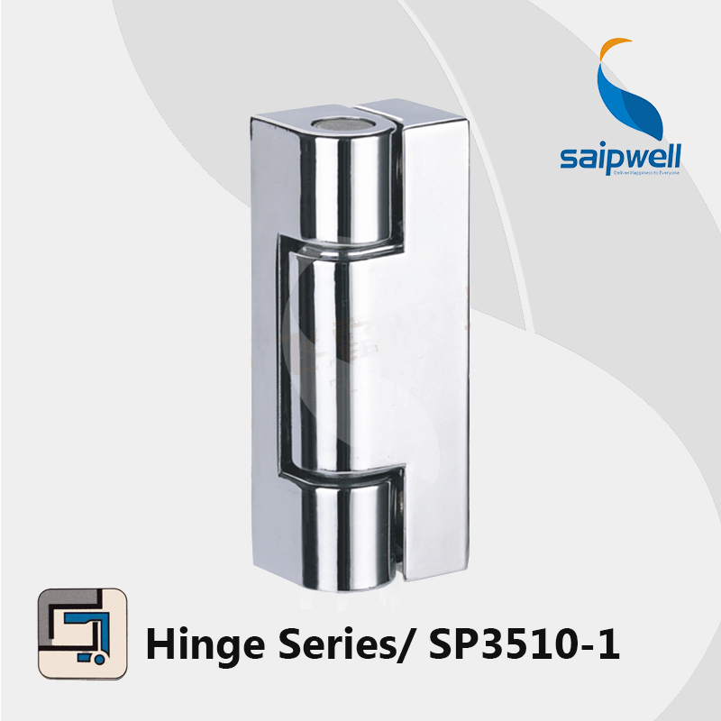 Surface Mounted Zinc Alloy Hinge / Shining Finished Cabient Hinges SP3510-1 (2pcs/lot)(China (Mainland))
