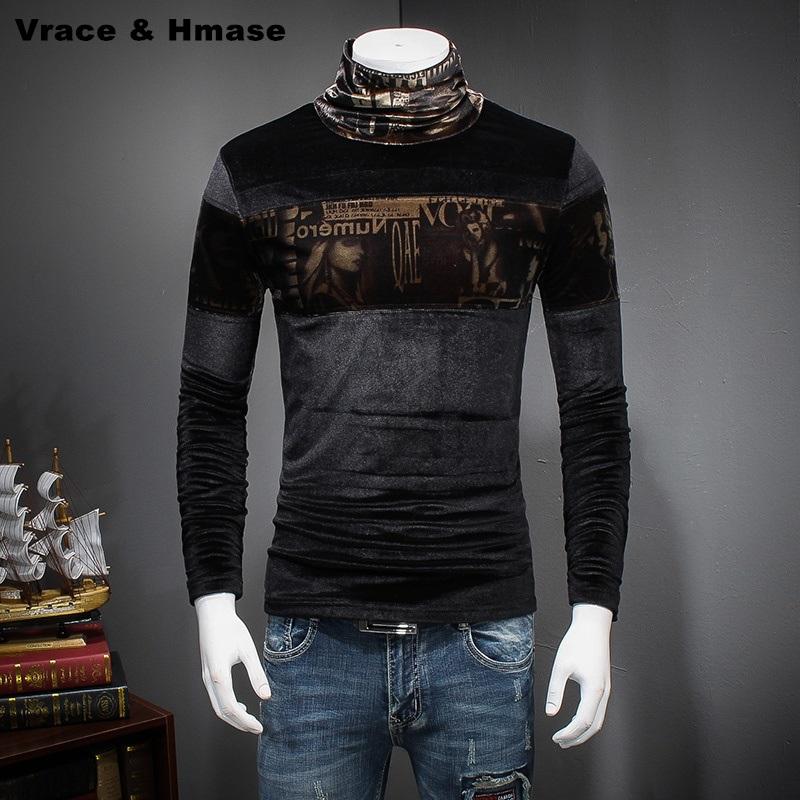 Mens Silk Turtleneck Shirts