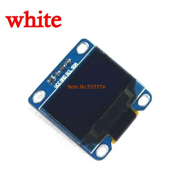 "Free shipping 5Pcs white 128X64 OLED LCD LED Display Module 0.96"" I2C IIC SPI Serial new original(China (Mainland))"