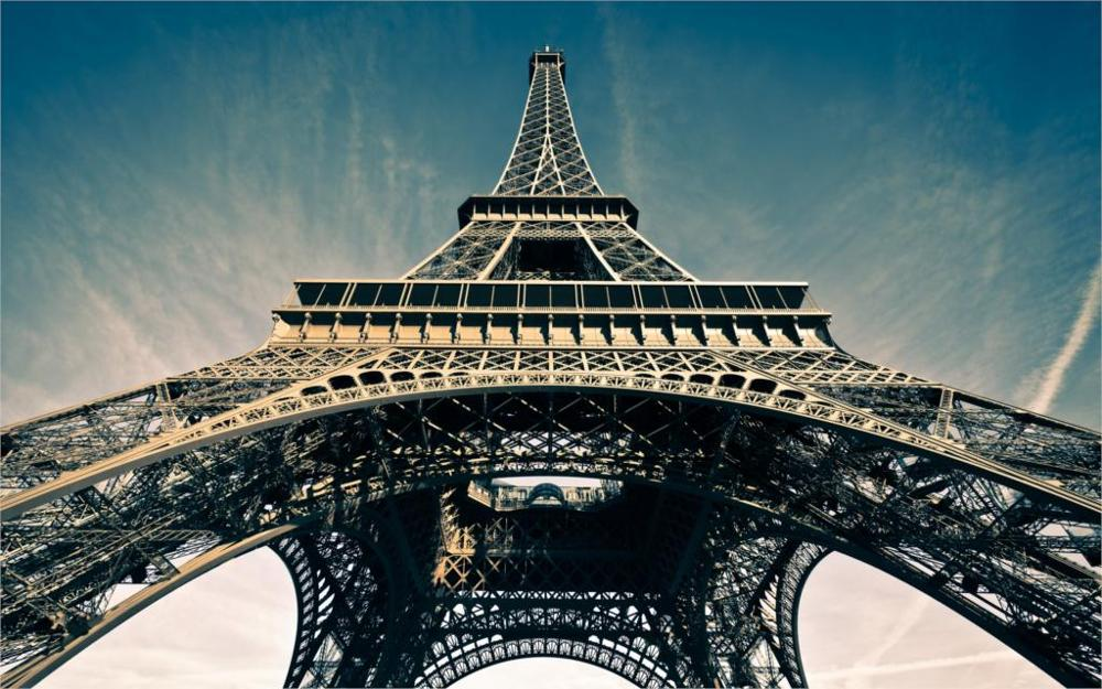 Building La tour Eiffel Eiffel Tower Paris France 5 Sizes Home Decoration Canvas Painting Poster Printing Wall Pictures(China (Mainland))