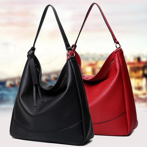 Women bag 2016 New Women Leather Handbag Messenger Bag Ladies Brand Designs Shoulder Bag Vintage Tote Sac A Main Clutches Bolsas(China (Mainland))