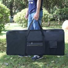 High Quality Portable 61-Key Keyboard Electric Piano Bag Padded Case Gig Bag Durable Oxford Cloth(China (Mainland))