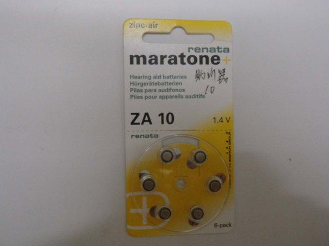 6packs Lot,6pcs per pack,brand new ZA10  1.4V, 100mAh Zinc-air hearing aid batteries long life