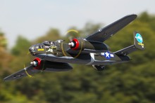 Buy FMS 1400MM / 1.4M Gaint Warbird B-25 / B25 Mitchell Green Newest version PNP Big Scale RC MODEL PLANE for $275.00 in AliExpress store
