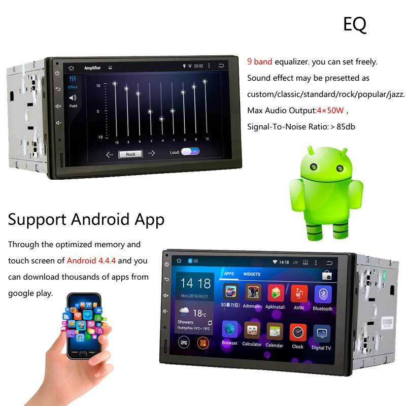 RK3066 Android 4.4.4  Car GPS Radio for  Citroen C1 Toyota Aygo Peugeot 107 1024*600 Touch Screen WIFI Bluetooth free map