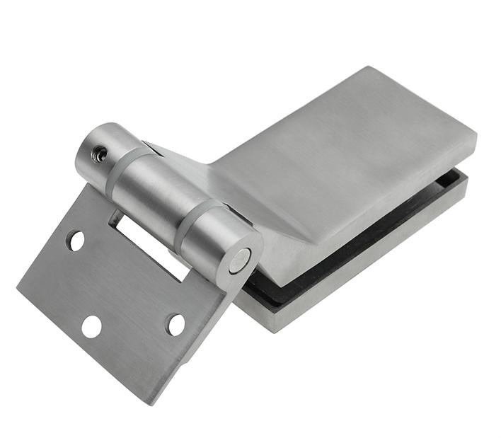 Stainless Steel Furniture Glass Clamp bathroom accessories office partition hinge(China (Mainland))