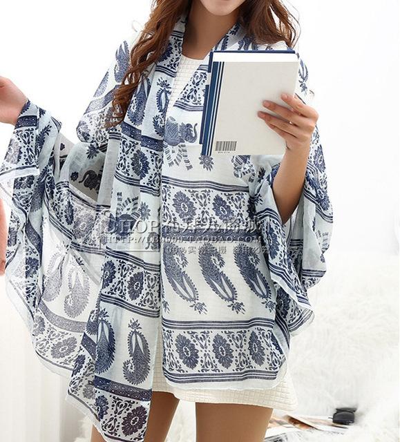 Сюй цин тайский слон этническая B254 модели новых хлопок вуали шарфы оптовая продажа производители