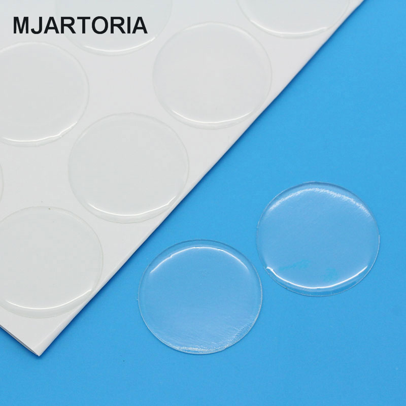 77PCs 20mm Clear Round Epoxy Domes Resin Stickers Cabochon For Jewelry Making DIY Findings Fit Cabochon Settings(China (Mainland))
