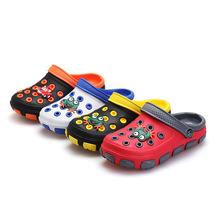 Fashion Kids 2016 Summer Sandals Slippers GIrl & Boy Children Cartoon Hole Shoes Wear Non-slip Baby Sandals Garden House Shoes