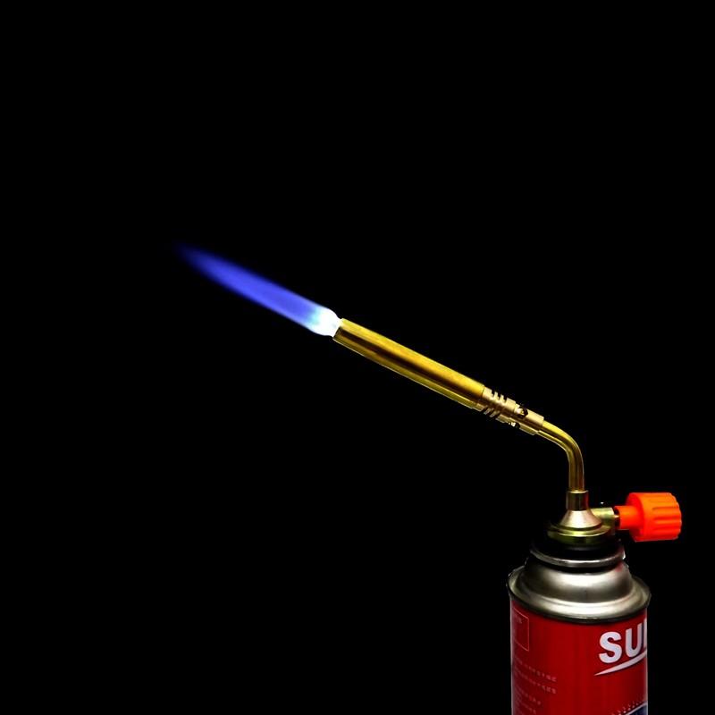 DAS Butane Burner Blower Welding Outdoor Camping BBQ Brazing gas Torch lighter Flame gun for Kitchen