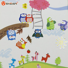 1Pcs Giraffe Owl Memo sticker Cute Drawing Diary Transparent Scrapbooking Calendar Album Decor Sticker Memo Pad
