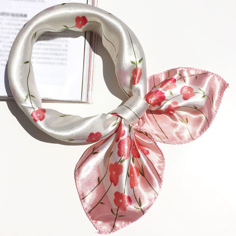 Soft Silk Square Scarf Scarves Business Suits Head Wrap Shawl Satin Stewardess(China (Mainland))