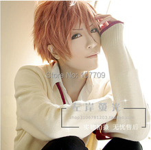 Free Shipping Brothers Conflict Asahina Futo 35CM Short Hair Wig Cosplay party Wigs Fashion + Free Wig Cap