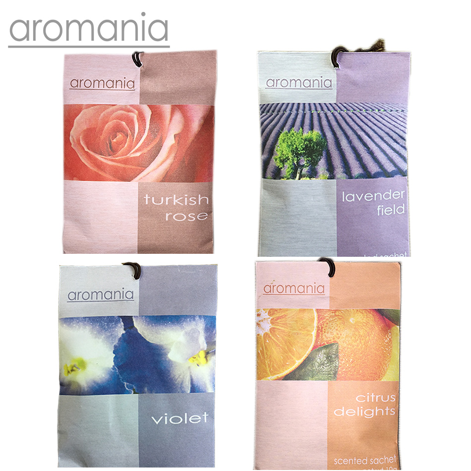 Aromania Fresh Rose Lavender Scented Sachet Fragrance Drawer Sachets Bag For Bedroom Car Flavor Fragrances Indian Free Shipping(China (Mainland))
