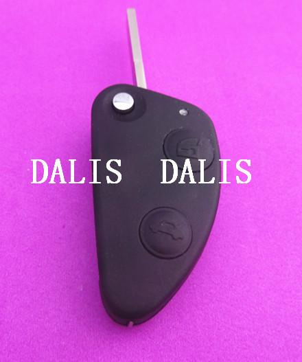 [해외]알파 로메오 147 (156) GT 2 버튼 원격 키 팝 빈 플립 교체 키..
