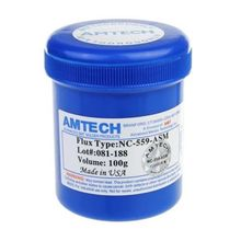 AMTECH NC-559-ASM 100g Lead-Free Solder Flux Paste For SMT BGA Reballing Soldering Welding Repair No Clean(China (Mainland))