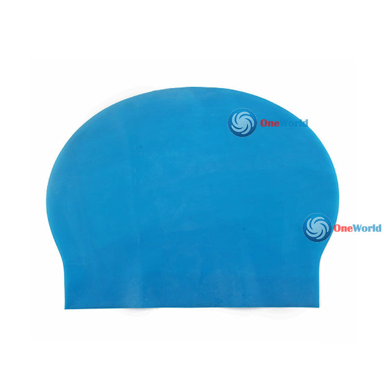 CuteMiss Fashion Durable Sporty Rubber Swim Cap Swimming Hat(China (Mainland))